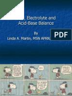 Fluid Electrolytes Acid Base
