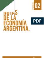 Notas de La Economia Argentina CENDA - Sep