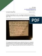 The Pensford Letter - 10.10.11