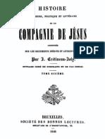 Histoire Religieuse Politique Et Litter a Ire de La Compagnie de Jesus (Tome 6)