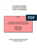 Vietnams Accession to the WTO