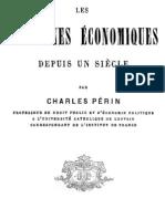 Les Doctrines Economiques Depuis Un Siecle