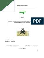 Informe de Aplicación de tres dosis de nitrógeno 46% (UREA) en MAIZ a SECANO