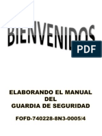 4elaborando El Manual Del Guardia de Seguridad