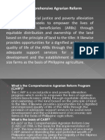 Comprehensive Agrarian Reform Program (CARP)