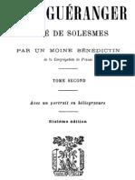 Dom Gueranger Abbe de Solesmes (Tome 2)