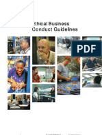 Boeing Ethical Business Conduct Guidelines