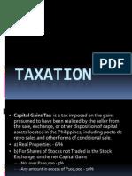 Kinds of Taxation
