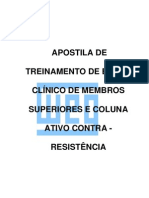 EXAME CLINICO CONTRA RESISTENCIA