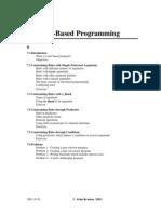 7 Rule Based Programming