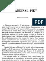 Le Cardinal Pie