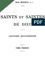 Saints Et Saintes de Dieu (Tome 1)