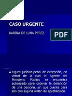 CASO URGENTE