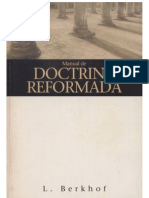 Manual de Doctrina Reformada - L. Berkhof