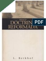 Manual de Doctrina Reformada - L. Berkhof