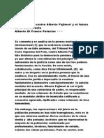 aLBERTO dI fRANCO .La sentencia contra Alberto Fujimori y el futuro de la democracia