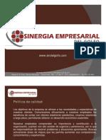 Sinergia - Portafolio de Servicios 2011