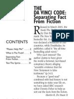 Da Vinci Code - Fact vs Fiction