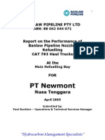 Newmont Refuelling Report April 2005
