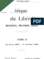 La Critique du Libéralisme (Tome 2)