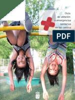 GUÍA DE ATENCIÓN A EMERGENCIAS SANITARIAS EN LOS CENTROS EDUCATIVOS