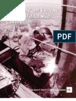 Fabricators' and Erectors' Guide to Welded Steel Construction - 1999 (Structural Welding)