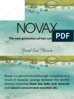 NOVAX Hair Care - Presentation