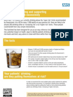 10 Alcohol Fact Sheet