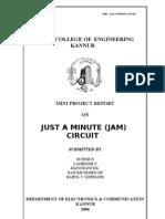 Mini Project Electronic Jam | Digital Electronics | Computer Engineering