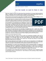 20110715 Dexia EBA Stress Test En