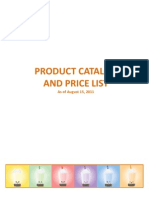 PHNI Product Catalog and Price List 100111