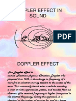 Doppler Effect & Its Applications