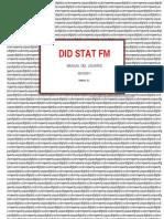 Manual Did Stat Fmv7