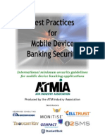 Mobile Phone Banking Best Practices Executive Summary