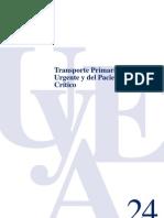 Transporte Paciente Critico Primario
