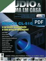 Audio e Cinema em Casa - 06_2004 Teste a Dali Concept 2