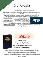 Bibliologia hoje
