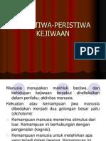 PERISTIWA-PERISTIWA KEJIWAAN