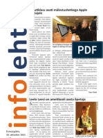 Infoleht 10. oktoober 2011