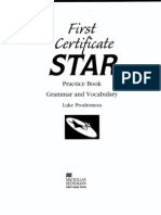 First Certificate Star - Practice Book - Grammar and Vocabulary - Macmillan