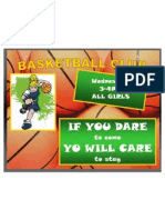 basketball poster word document