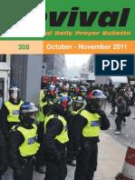 24 p. Revival Prayer Bulletin October/November 2011