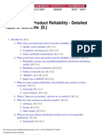 Process Reliability Assessment