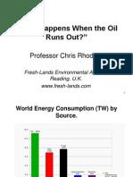 Chris Rhodes - What Happens When The Oil Runs Out