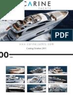 Carine Yachts - Yachts Brokerage - catalog October 2011