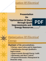 Optimization of Energy