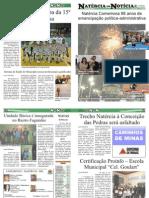 JORNAL NATÉRCIA EM NOTÍCIA 3ª EDIÇÃO