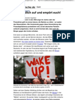 Bürger gegen Finanzindustrie - Steht endlich auf und empört euch! -- sueddeutsche