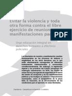 Evitar la violencia y toda otra forma contra el libre ejercicio de reuniones y manifestaciones específicas - Decidamos - PortalGuarani - Paraguay