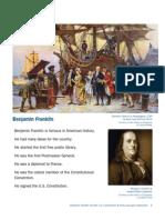 Benjamin Franklin Handouts